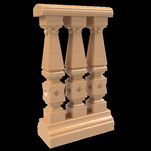 Balusterelement 3D
